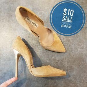 Steve Madden suede heels